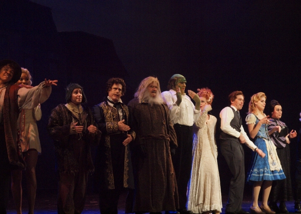 Curtain Call and Press Night Celebration of Musical Theatre West's YOUNG FRANKENSTEIN