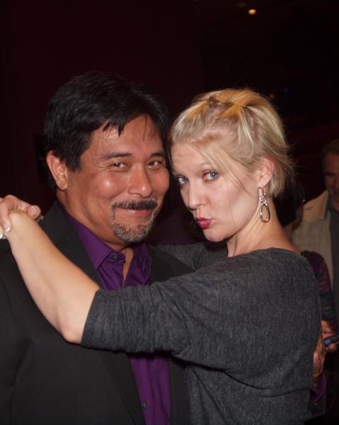 Glenn Shiroma and Jen Malenke