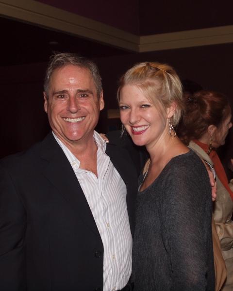 John Racca and Jen Malenke
