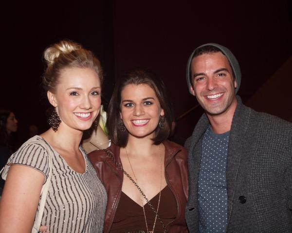 Marisa Field, Kristen Lamoureux, and Adam Samuel Pellegrine