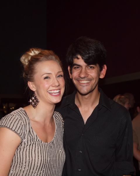 David Lamoureux and Marisa Field