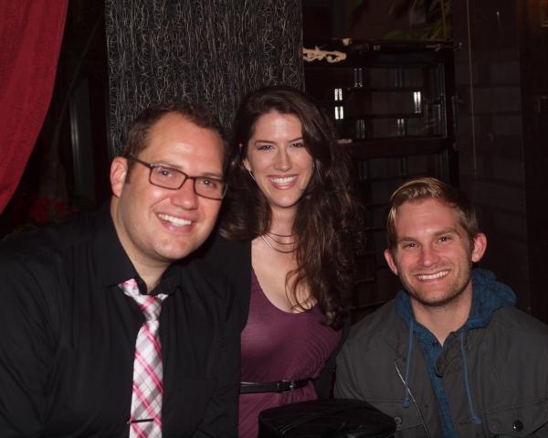 Danny Blaylock, Jennifer Holcombe, and Jaycob Hunter