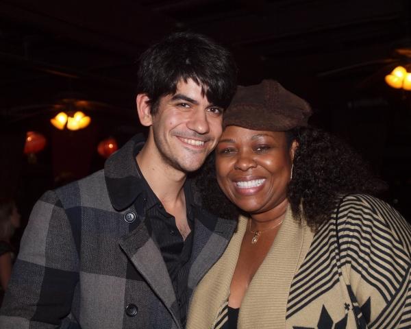 David Lamoureux and Gwen Stewart Photo