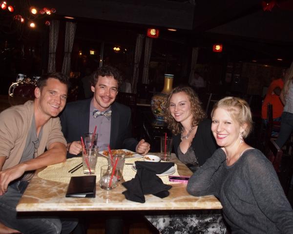 Tom Lowe, Zachary Ford, Bobbie Bagby Ford, and Jen Malenke