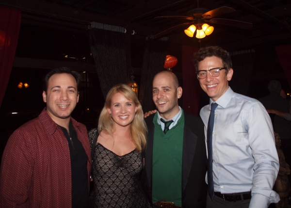 Daniel Mahler, Ashley Fox Linton, Jeffrey Landman, and Jeff Skowron