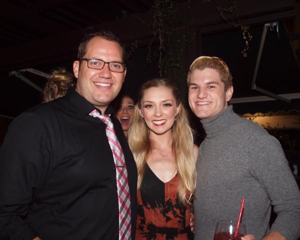 Danny Blaylock, Katy Tabb, and David W. Miller Photo