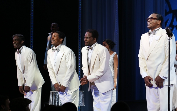 Photo Coverage: AFTER MIDNIGHT Cast Takes First Official Broadway Bow!