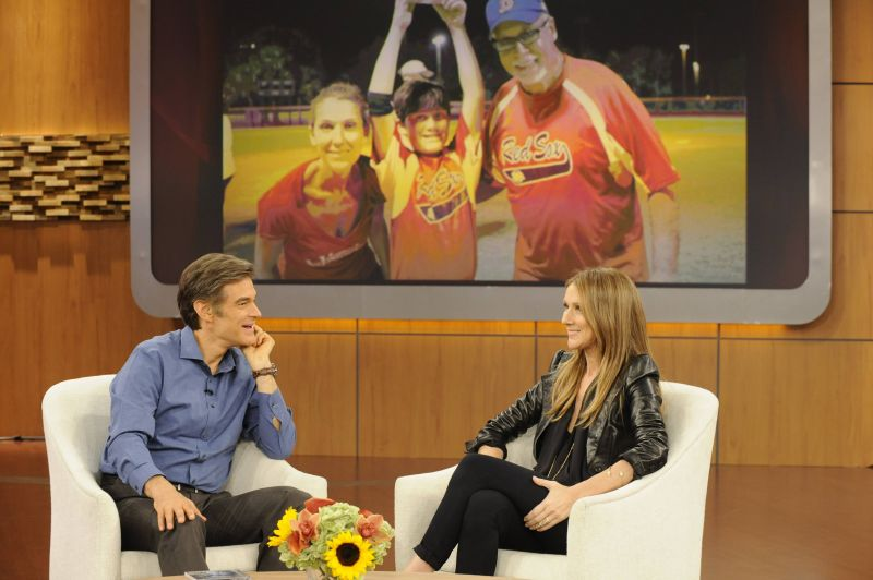 FIRST LOOK - Celine Dion Visits THE DR. OZ SHOW, 11/6