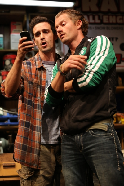 James Ransone and James Badge Dale