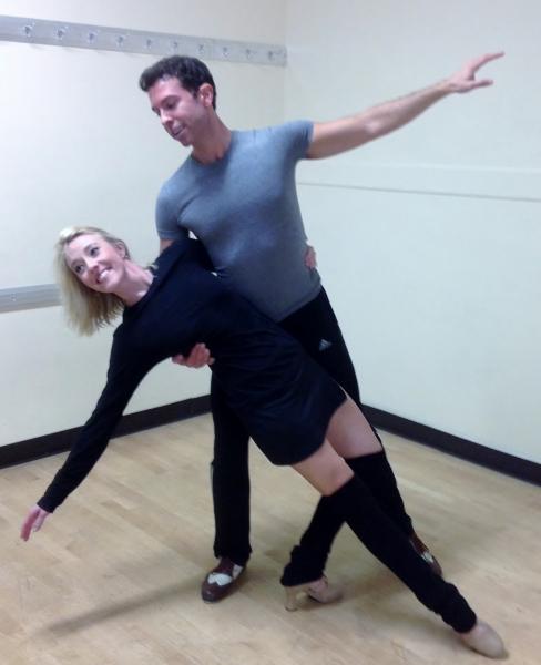 Kelly Sheehan (Judy) & Jeremy Benton (Phil)