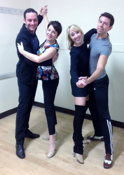 Sean Montgomery (Bob) and Lindsie VanWinkle (Betty) Kelly Sheehan (Judy) & Jeremy Benton (Phil)