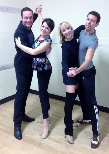 Sean Montgomery (Bob) and Lindsie VanWinkle (Betty) Kelly Sheehan (Judy) & Jeremy Benton (Phil)