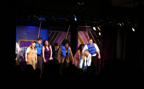 Photo Coverage: DISASTER! Cast Takes Opening Night Bows!