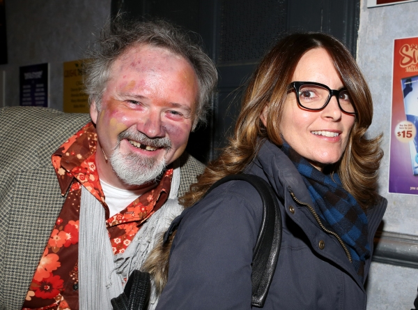 Tom Riis Farrell and  Tina Fey