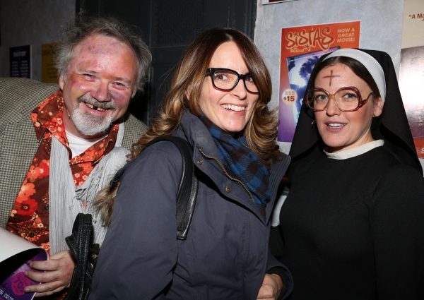 Tom Riis Farrell, Tina Fey and Jennifer Simard