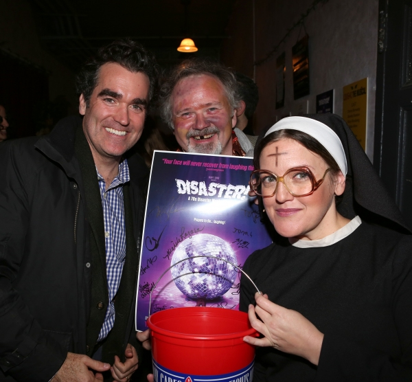 Brian d''Arcy James, Tom Riis Farrell and Jennifer Simard