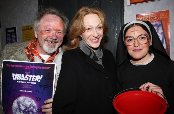 Tom Riis Farrell, Jan Maxwell and Jennifer Simard