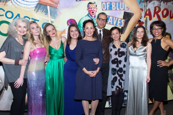 Mary Beth Peil, Aleque Reid, Emily Meade, Vanessa Aspillaga, Laurie Metcalf, Jeff Goldblum, Anna D. Shapiro, Mia Barron, Karen Pittman