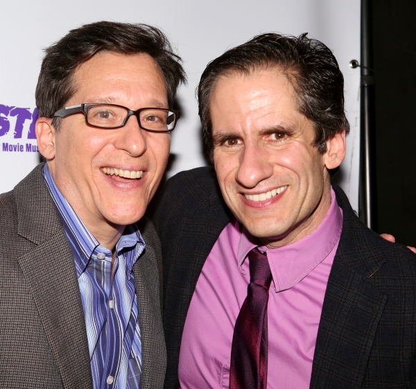Seth Rudetsky and Drew Geraci