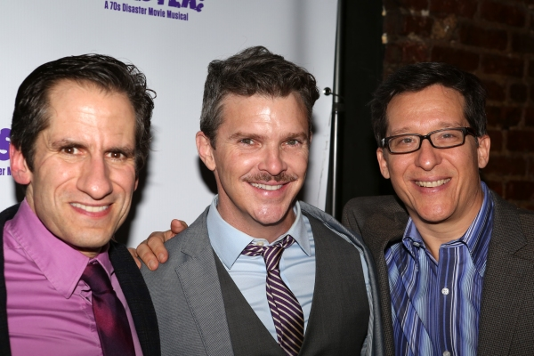 Seth Rudetsky, Denis Jones and Drew Geraci
