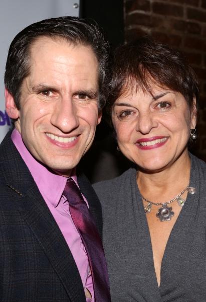 Seth Rudetsky and Priscilla Lopez