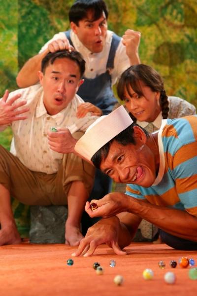 "Alvin Chan, Kala�""i Stern, Maile Holck, Junior Tesoro Photo"