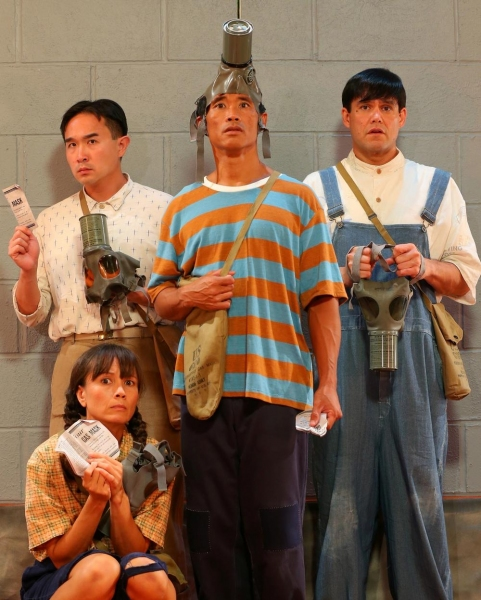 Maile Holck, Alvin Chan, Junior Tesoro, Kala'i Stern