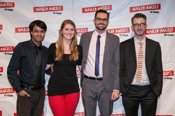 Debargo Sanyal, Kelsey Foltz, Brennan Lowery & Daniel Aukin Photo