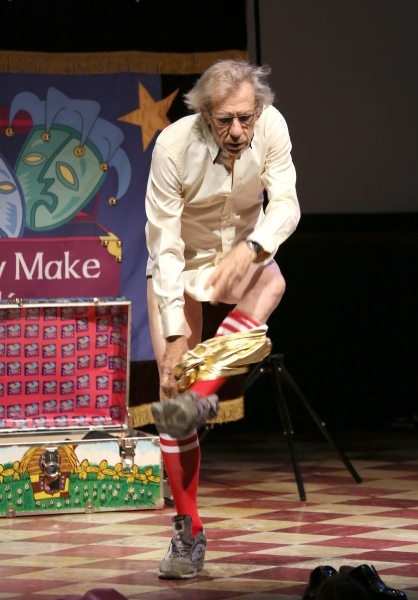 Photo Coverage: Ian McKellen Makes a Quick Change at Only Make Believe Gala