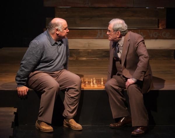 David Wohl (Helmut) and Bernard Beck (Papa)