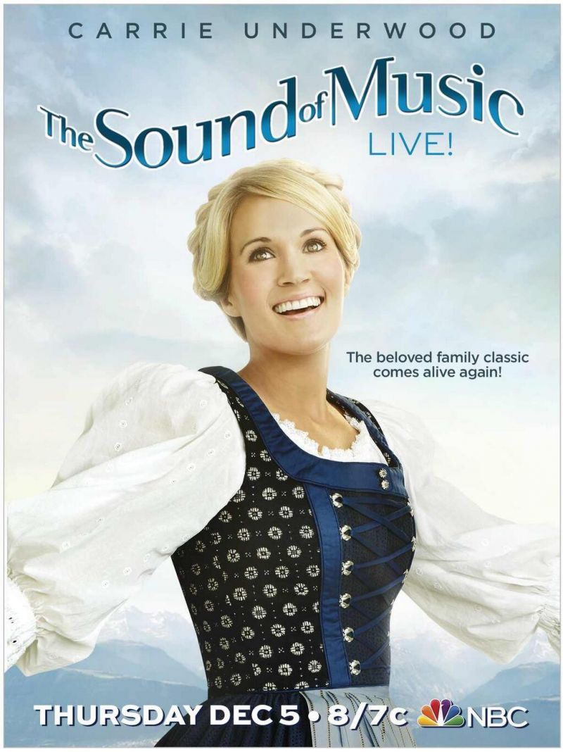 Sing With Carrie Underwood! THE SOUND OF MUSIC Fan Music Video Contest Now Open