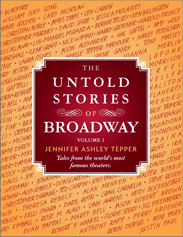 BWW Exclusive: Counting Down to Jennifer Ashley Tepper's UNTOLD STORIES OF BROADWAY Book - The Winter Garden Theatre