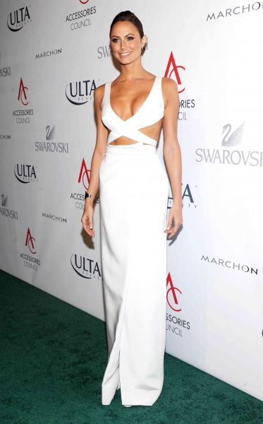 Stacy Keibler at the Accessories Council Excellence Awards in New York (REX USA/Picture Perfect)