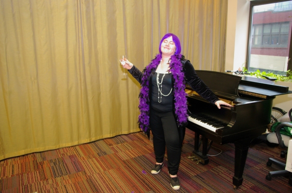 Music Theatre International staff celebrates Halloween