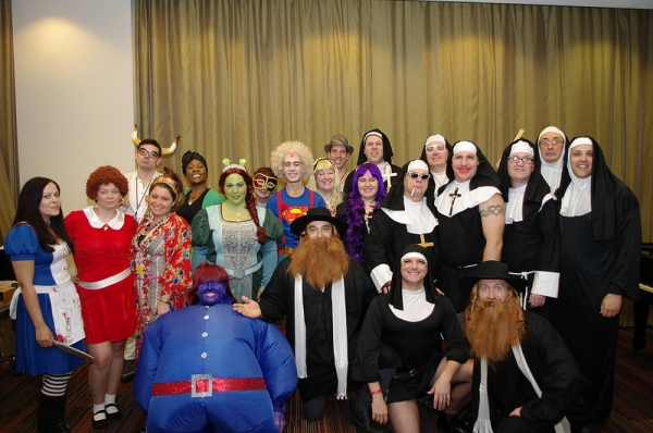Photo Flash: Music Theatre International Staff's Broadway-Inspired Halloween Costumes