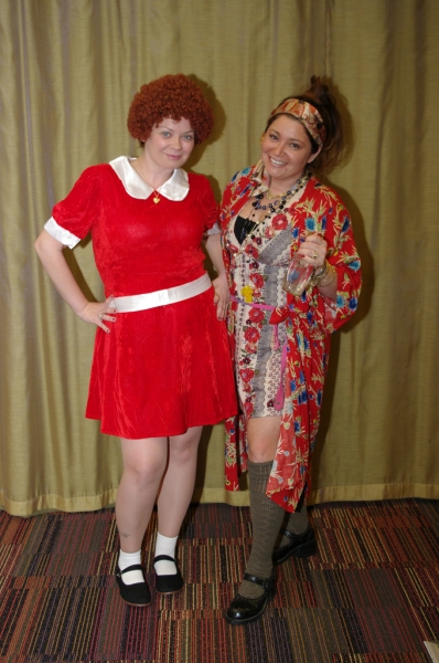 Music Theatre International staff celebrates Halloween