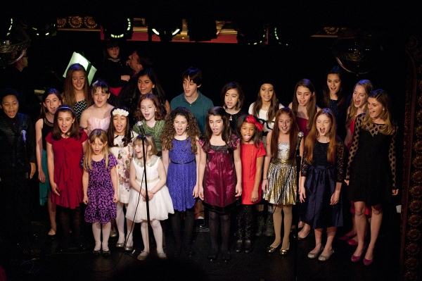 Photo Flash: Young Stage, Film and TV Performers Rehearse for SONGS FOR STORY SHIFTERS
