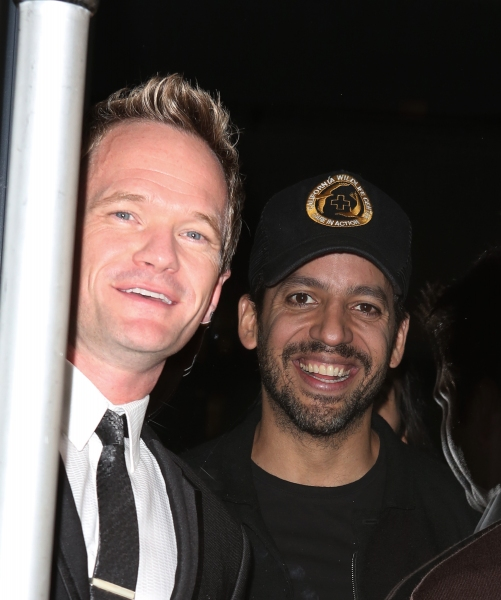 Neil Patrick Harris and David Blaine