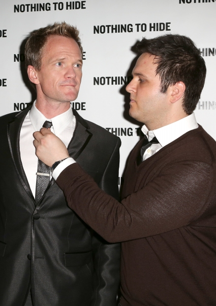 Neil Patrick Harris and Derek Delgaudio