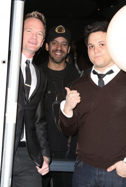 Neil Patrick Harris, David Blaine and Derek Delgaudio