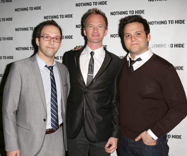 Helder Guimaraes, Neil Patrick Harris and Derek Delgaudio