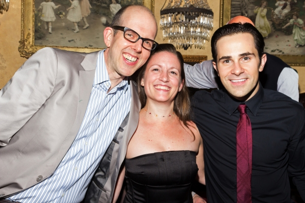 Jeff Blumenkrantz, Wendy Seyb, Brett Ryback Photo