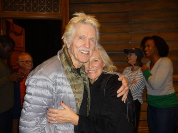 Photo Flash Tony Winner Glenn Close Visits A Time To Kill