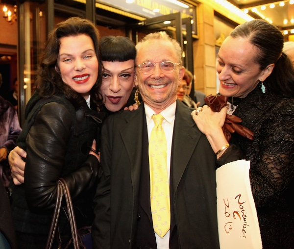 Debi Mazar, Joey Arias, Joel Grey and Isabel Toledo