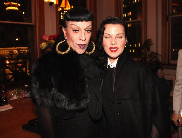 Joey Arias and Debi Mazar