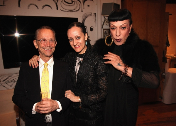 Joel Grey, Isabel Toledo and Joey Arias