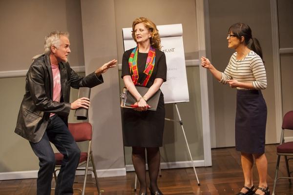 Sam Gregory, Judith Hawking and Rebecca Hirota Photo