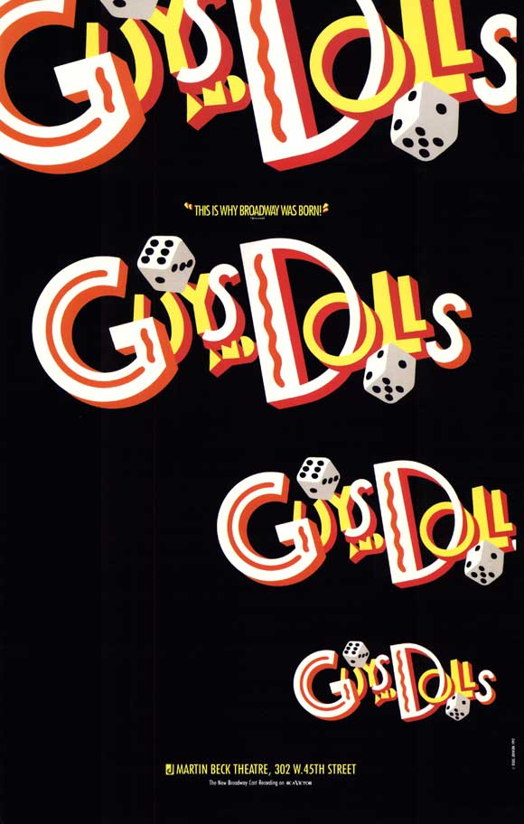 FLASH FRIDAY: GUYS & DOLLS Gets Dolled Up For Carnegie Hall With A High Stakes Cast