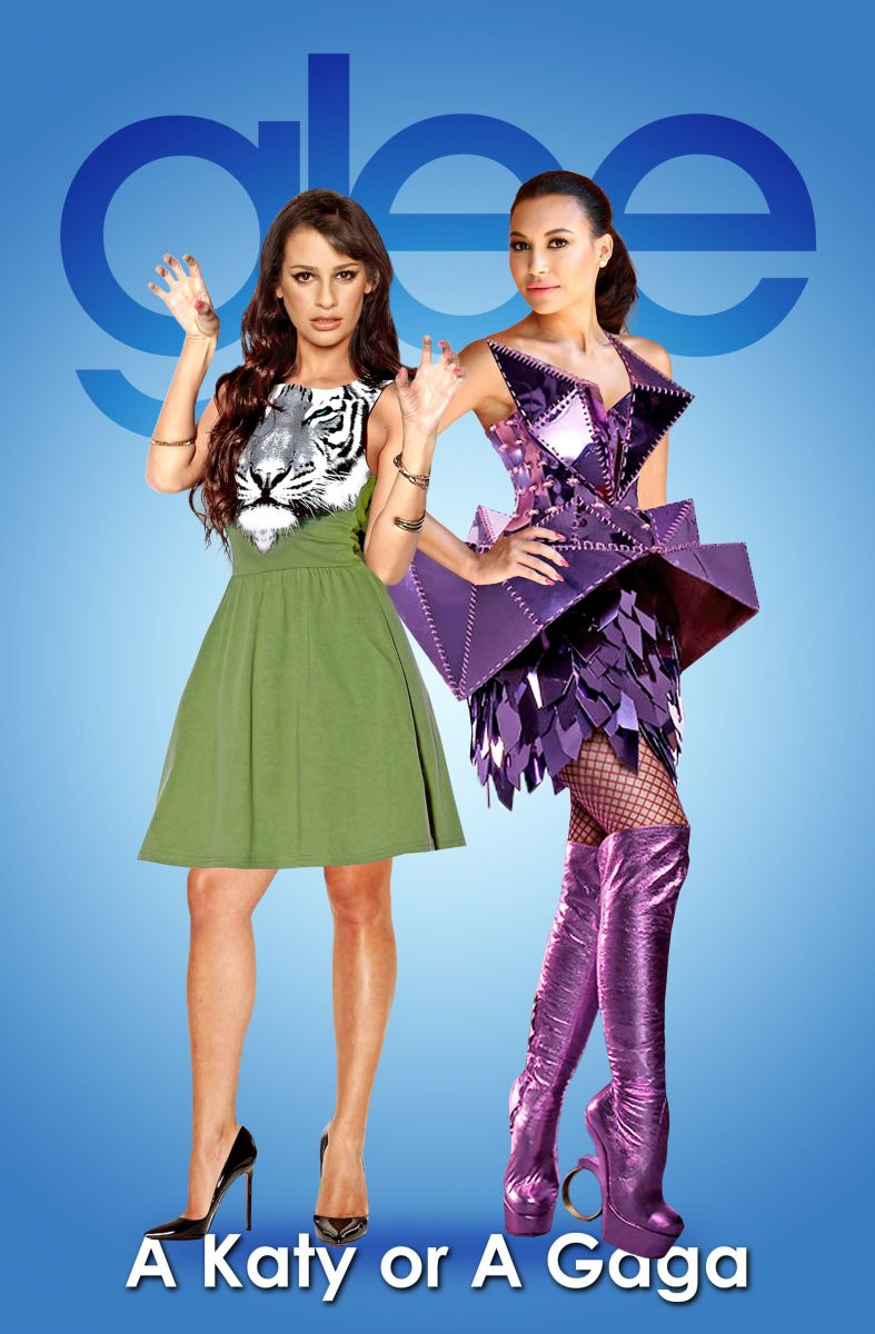 SOUND OFF: GLEE's Fabulous Feud Featuring Katy Perry & Lady Gaga