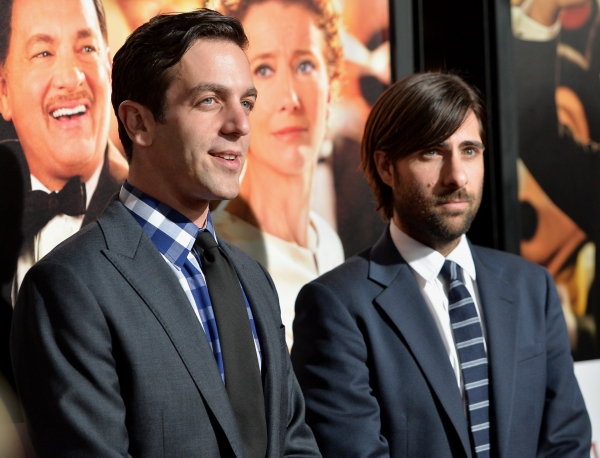 B.J. Novak (L) and Jason Schwartzman